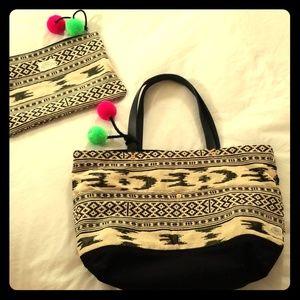 NWT Levi Strauss Southwest Style Bag w/Bonus Pouch